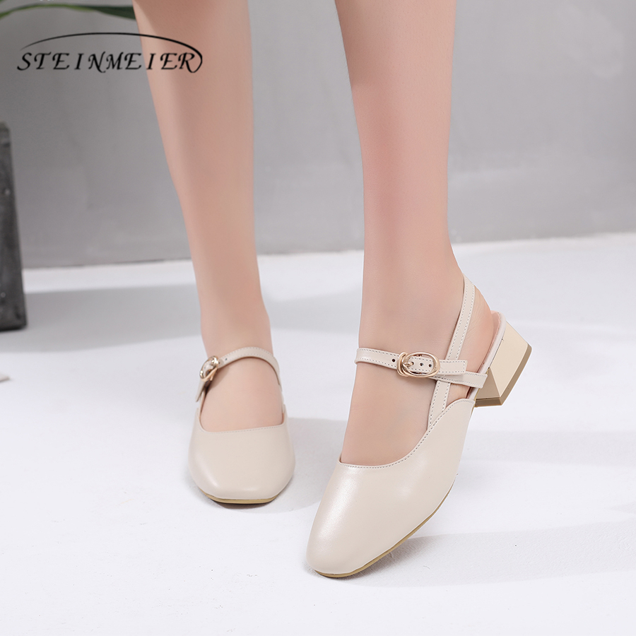 Genuine cow leather brogues Sandals shoes vintage women handmade beige oxford shoes for women 2018 spring aardimi 100% cow leather oxford shoes for woman spring