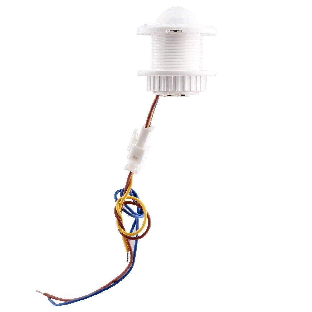 Neue ight Birne Schalter Zeit Verzögerung für Home Beleuchtung LED Lampe Verstellbare Infrarot Körper Sensor Schalter Motion Detektor L