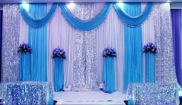 Curtains Ideas blue and gold curtains : Compare Prices on Silver Blue Curtains- Online Shopping/Buy Low ...