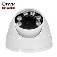 Ip-камера POE 720 P/960 P/1080 P (Sony IMX322) 25fps Антивандальный купольная ip-камера Крытый АНТИВАНДАЛЬ Onvif 2.0 48 В POE CCTV