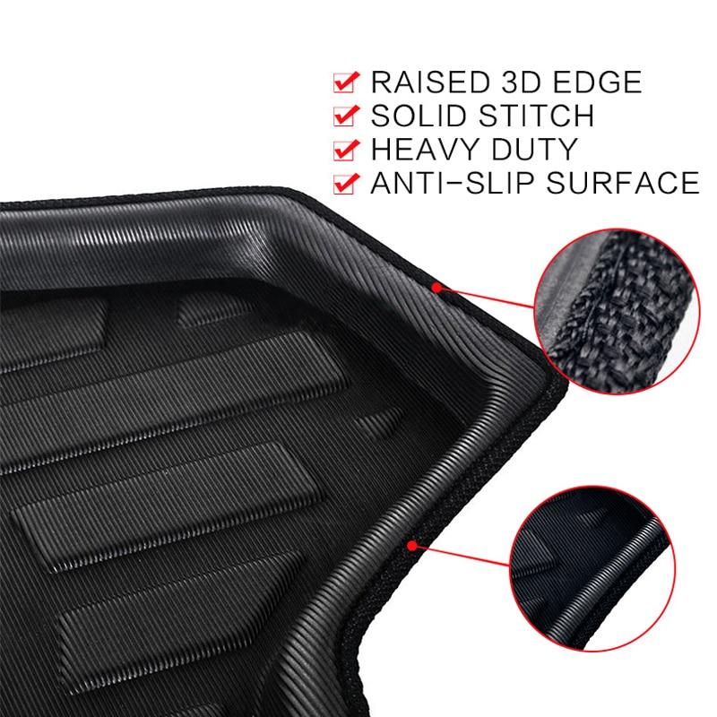 Image 4 - Car Rear Trunk Mat Cargo Tray Boot Liner Carpet Protector Floor For VW Passat B8 (3G5) Estate & Variant & Alltrack/GTE 2014 2019