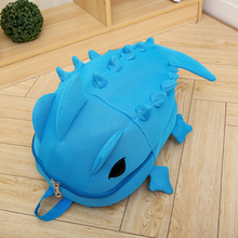 2019 Creative 3D Animal Twin Backpack Cartoon Cute Candy Color Dinosaur Harajuku Colorful Galaxy Style