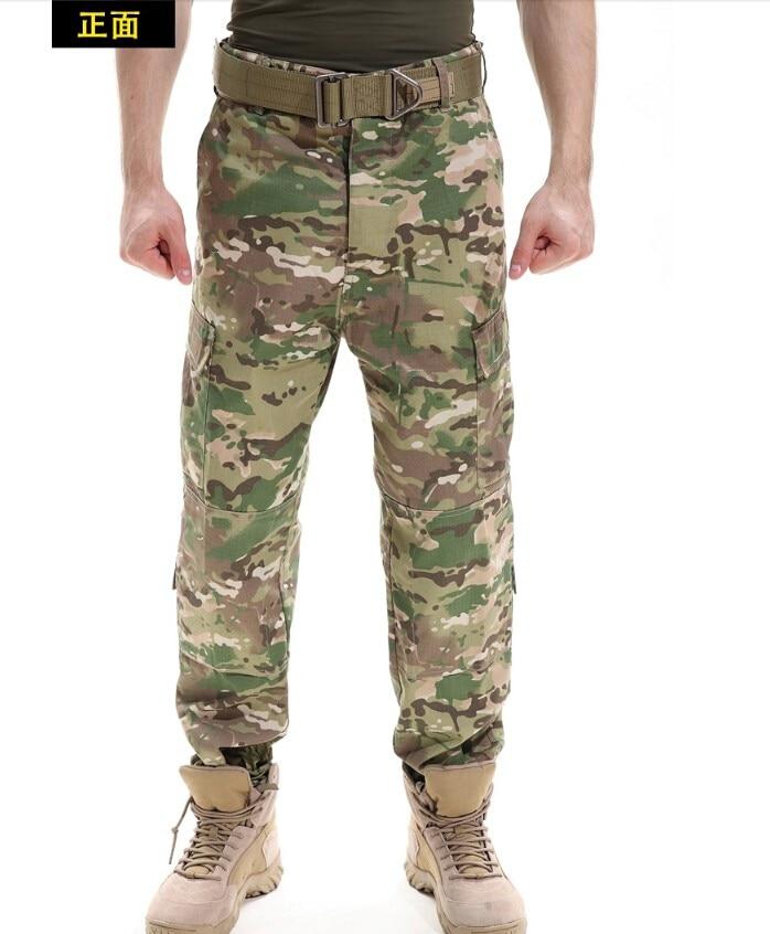 Camuflaje Pantalones al aire libre ejército de los hombres térmica ...