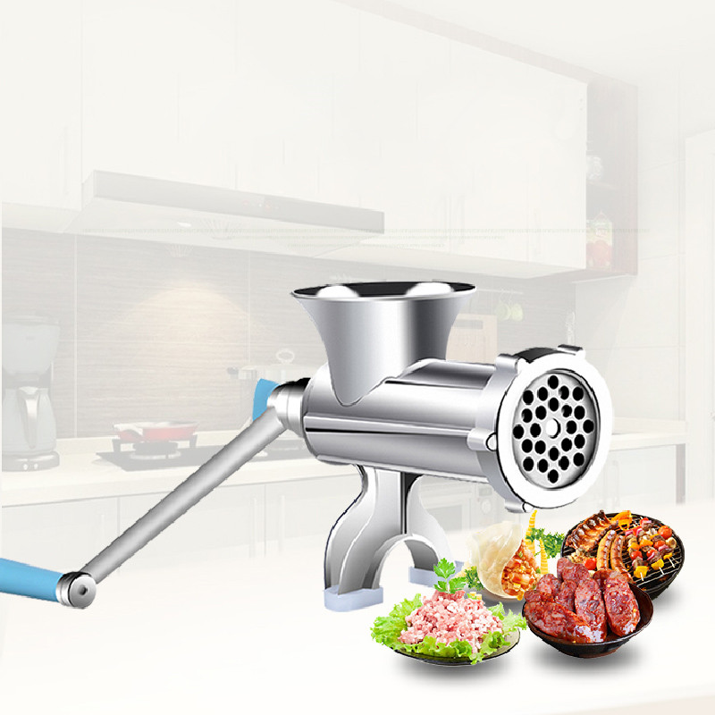 Beijamei Kitchen Tool Reinforce Manual Meat Mincer Meat Grinder Multifunctional Pasta Maker Hand Operated Sausage Maker hand cranked meat mincer sausage manual meat grinder multifunctional home for mincing meat vegetable spice blades kitchen tools