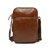 где купить Designer Mini Motorcyle Bag Men Simple Casual Single Shoulder PU Leather Men's Designer Leather Bag Leisure Trendy Crossbody Bag по лучшей цене