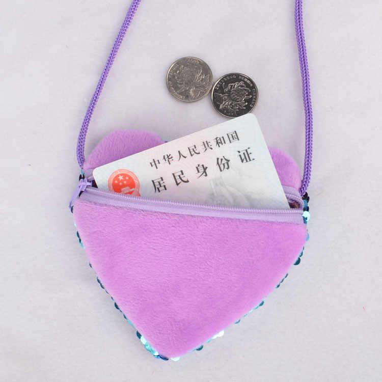 Anak Messenger Bag Tas Anak Lucu Balita Tas Sekolah TK Anak Gadis Putri Duyung Payet Koin Dompet 26