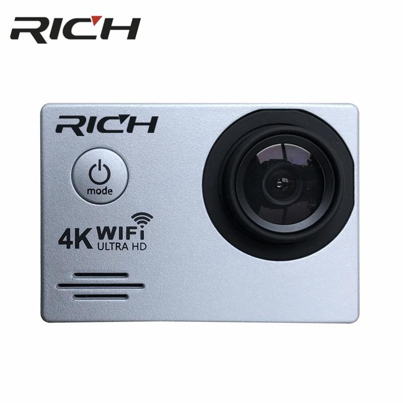 DHL RICH DVSJ700 Action Camera WiFi Ultra HD 4K Underwater 30M Outdoor Sports Camera 2.0 LCD 1080p 60fps Camera