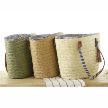 SUDS 2020 Summer Style Beach Bag Women Straw Tassel Shoulder Bag Brand Designer Handbags High Quality Ladies Casual Travel Bags 5