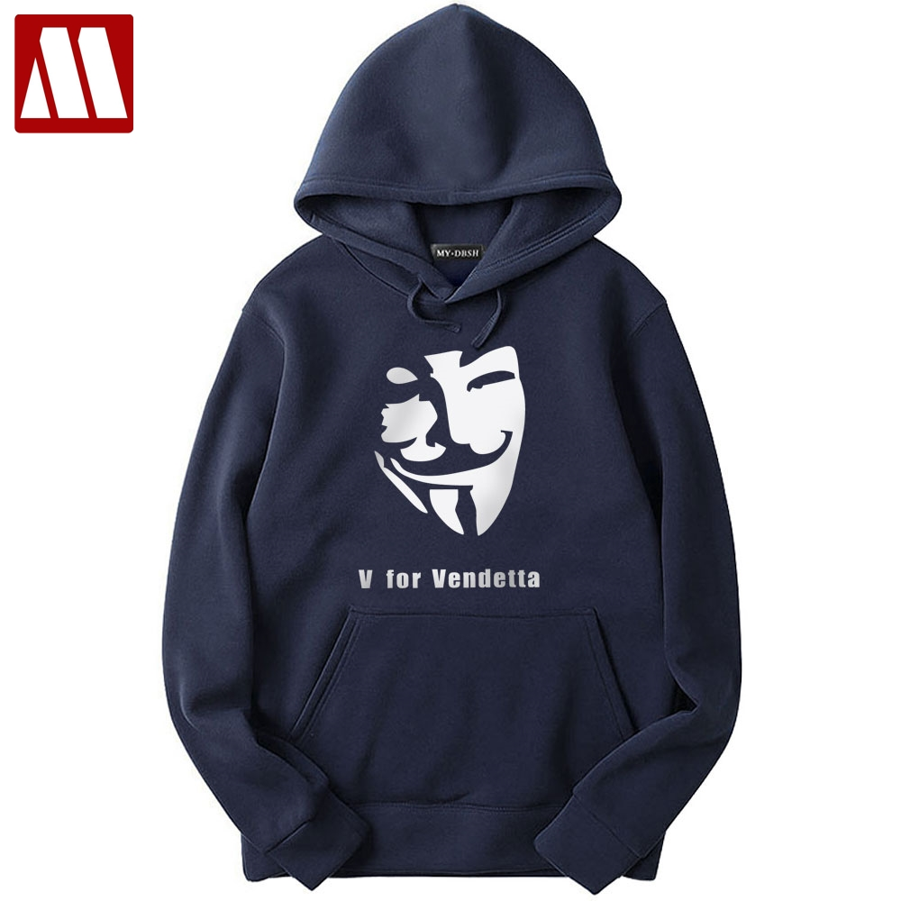 We See We Judge V for Vendetta Anonymous inspired Printed Hoodie