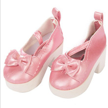 Fit 18 inch 40-43cm Born New Baby Doll Shoes 15 style Doll Accessories BJD Pink Red doll shoes For Baby Birthday Gift цены онлайн