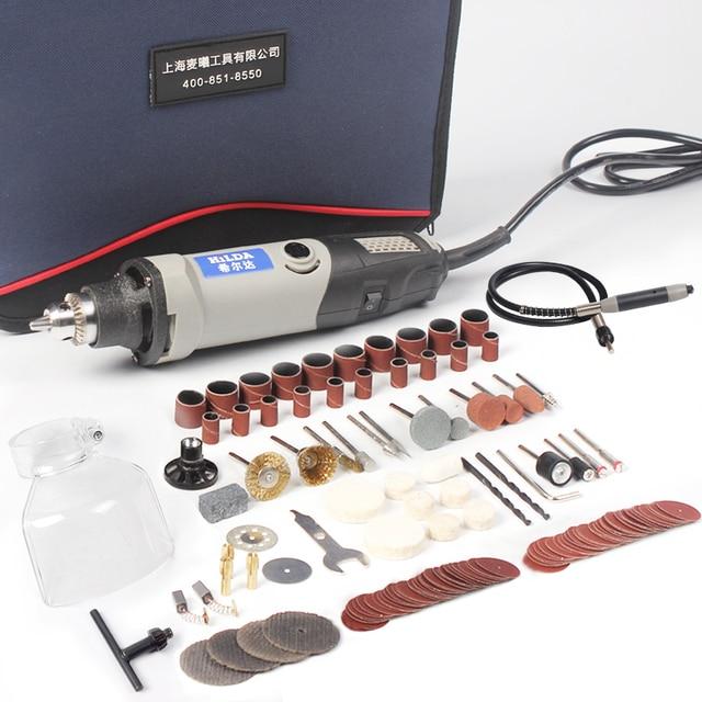 HILDA Electric Drill Dremel Grinder Engraving Pen Grinder Mini Drill Electric Rotary Tool Grinding Machine Dremel Accessories 1