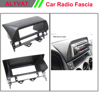 One Din CD DVD Stereo Panel for MAZDA 6 Atenza 2002 2007 Fascia Radio Refitting In Dash Mount Install Kit Face Plate