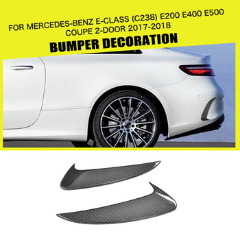 Car Styling Carbon Fiber Rear Bumper Side Trunk Vent Wings For