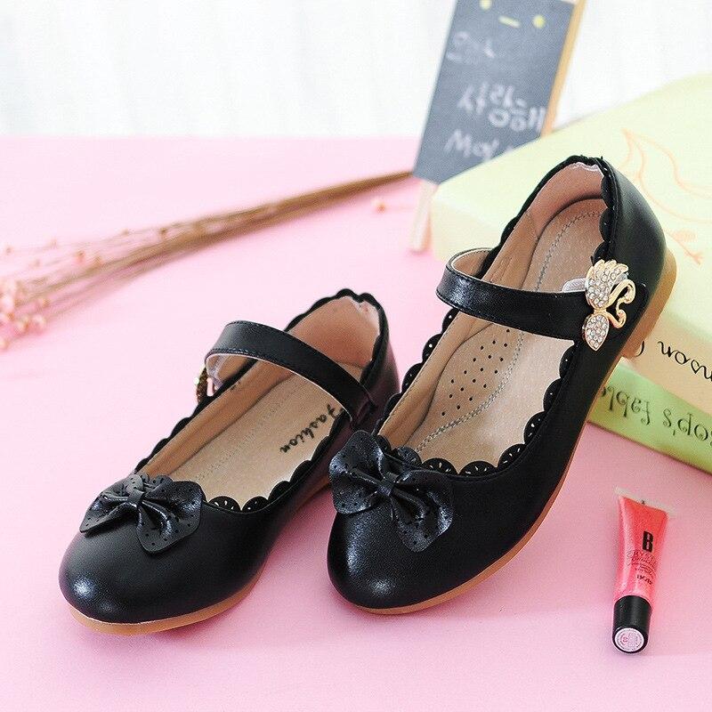 53493ba20 2016 Outono nova princesa sapatos sapatos casuais meninas das crianças arco  sapatos de alta qualidade para crianças de strass sapatos casuais tamanho  26-37