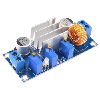 Automatic Protection! 5A Max DC-DC XL4005 Step Down Buck Power Supply Module Adjustable CC/CV Lithium Charge Board for Arduino 3