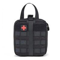 Tático saco de primeiros socorros médica sling pouch sobrevivência edc emt sacos para o carro acampamento ao ar livre esporte b2cshop