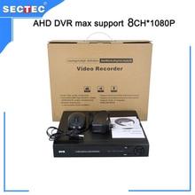 8CH H.264 1080P AHD DVR support WIFI/3G iCloud 8*1080N playback,1 SATA HDD (MAX 6TB )HI3521A Chip AHD CCTV DVR Recorder