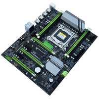 X79T Ddr3 Pc Desktop Madre Lga 2011 Cpu Del Computer 4 Canale di Supporto di Gioco M.2 E5-2680V2 I7 Sata 3.0 Usb 3.0 per Intel B