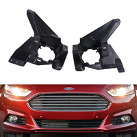 2x For Ford Mondeo Fusion 2013 2016 ABS Plastic Car Front Bumper Fog Lights Stent Support