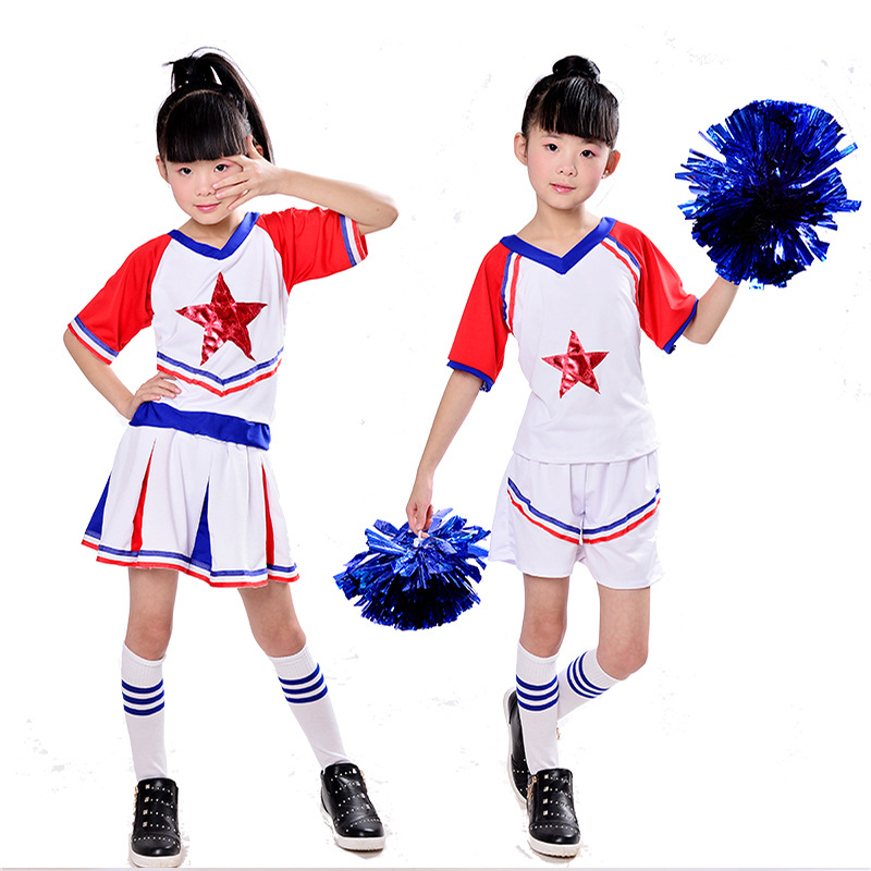 Children's Cheerleading Team Performance Clothing Clothes&skirt& Basketball School Baby Gymnastic Girls Performance Clothing