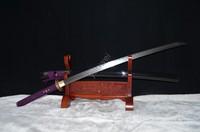 武蔵折り畳ま鋼ブレードハンドメイド日本sword samurai katanaカミソリsharp tamahagane