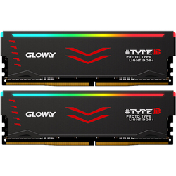 Оперативная память Gloway типа B, DDR4, 8 Гб * 2, 16 ГБ, 3000 МГц, 3200 МГц, RGB, для игр, настольных компьютеров, dimm, с высокопроизводительной памятью
