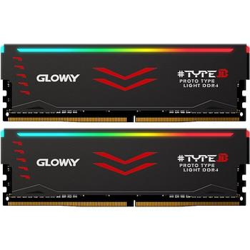 Gloway  Type B series DDR4 8gb 16gb 3000mhz  RGB RAM for gaming desktop dimm with high performance memoria ram