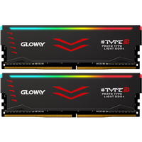 Gloway Type B series DDR4 8gb*2 16gb 3000mhz 3200mhz RGB RAM for gaming desktop dimm with high performance memoria ram