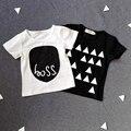 Baby boy camiseta Cruzada de marca ropa de los niños niño niños ropa niños camisetas chico tees Camisetas roupa meninos