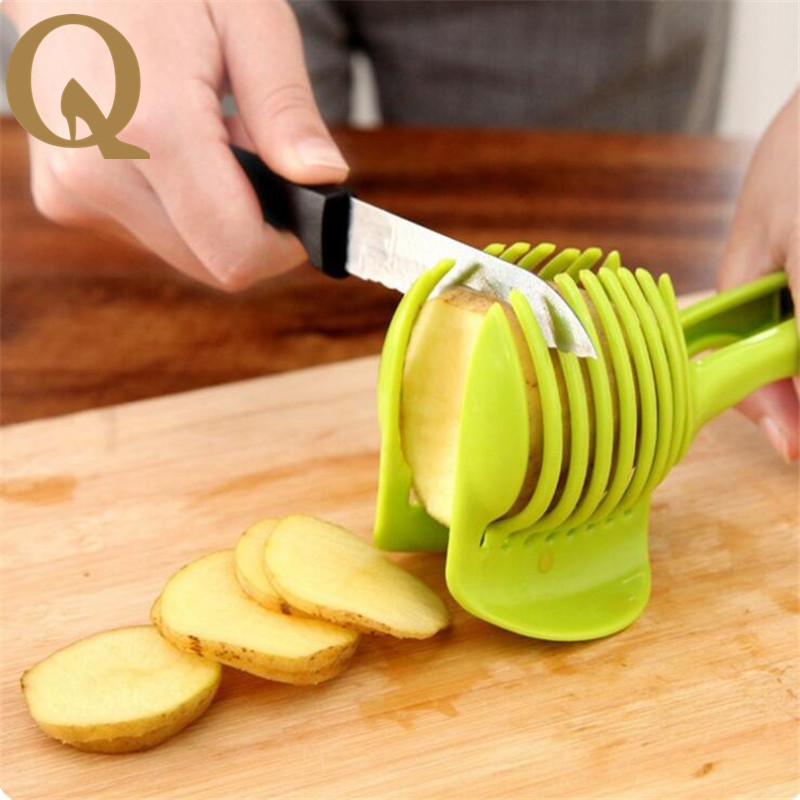 Delightful Latest Kitchen Tools Part - 9: 2017 The Latest Practical Kitchen Tools Qiecai For Food Slicer Tomato Lemon  Slicer Cutting Family A