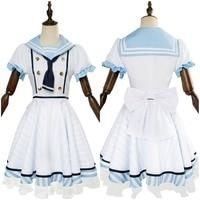 LoveLive Cosplay Nico Yazawa Cosplay Costume Halloween Carnival Costumes Sea Pirates Sailor Suit School Uniform Custom Made