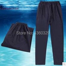 Fashion burberry Rain Pants Dark Blule burberry men Woman Waterproof Trousers Motorcycle Raincoat Sports Boys Rainwear