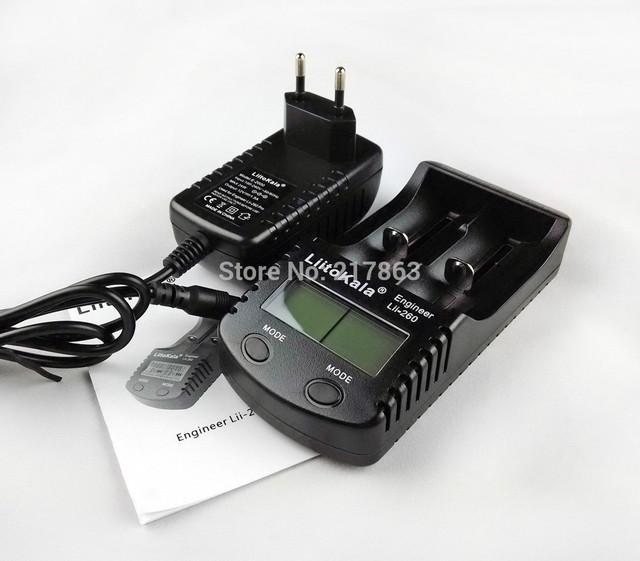 Bateria carregador Liitokala lii-260 lcd em 18650/26650/16340/14500/10440/18500 carregador de lítio bateria.