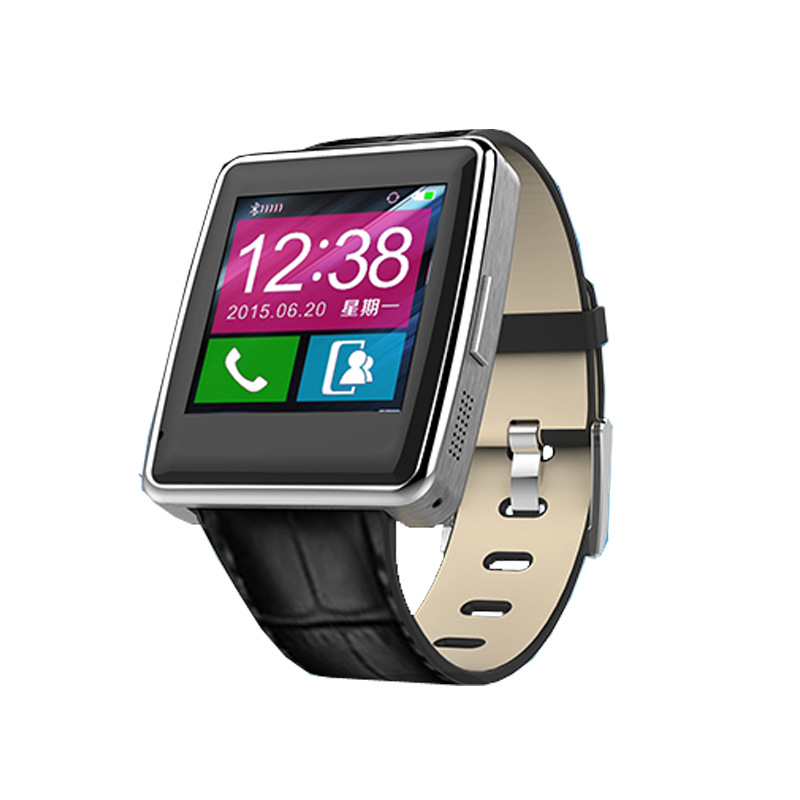 font b Smartwatch b font Bluetooth Smart Watch Wristwatch for IOS Android Phone Intelligent Clock