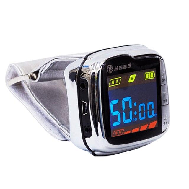 650nm Menor de Açúcar No Sangue Diabetes dispositivo de tratamento de Irradiação Do Laser Remove Resíduos e alívio da dor