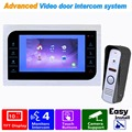 "HD 10"" Video Door Phone Intercom Doorbell Camera System Indoor Monitor Support CCTV Security Door Access Control Rainproof F1364"