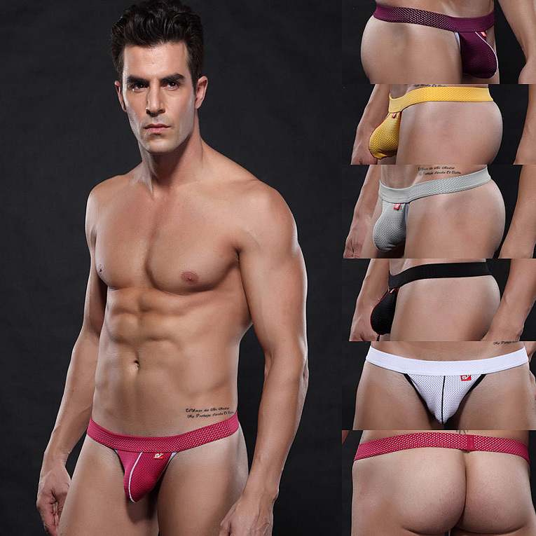 Aliexpress.com : Buy Mesh Sexy Men's Thong underwear without back ...