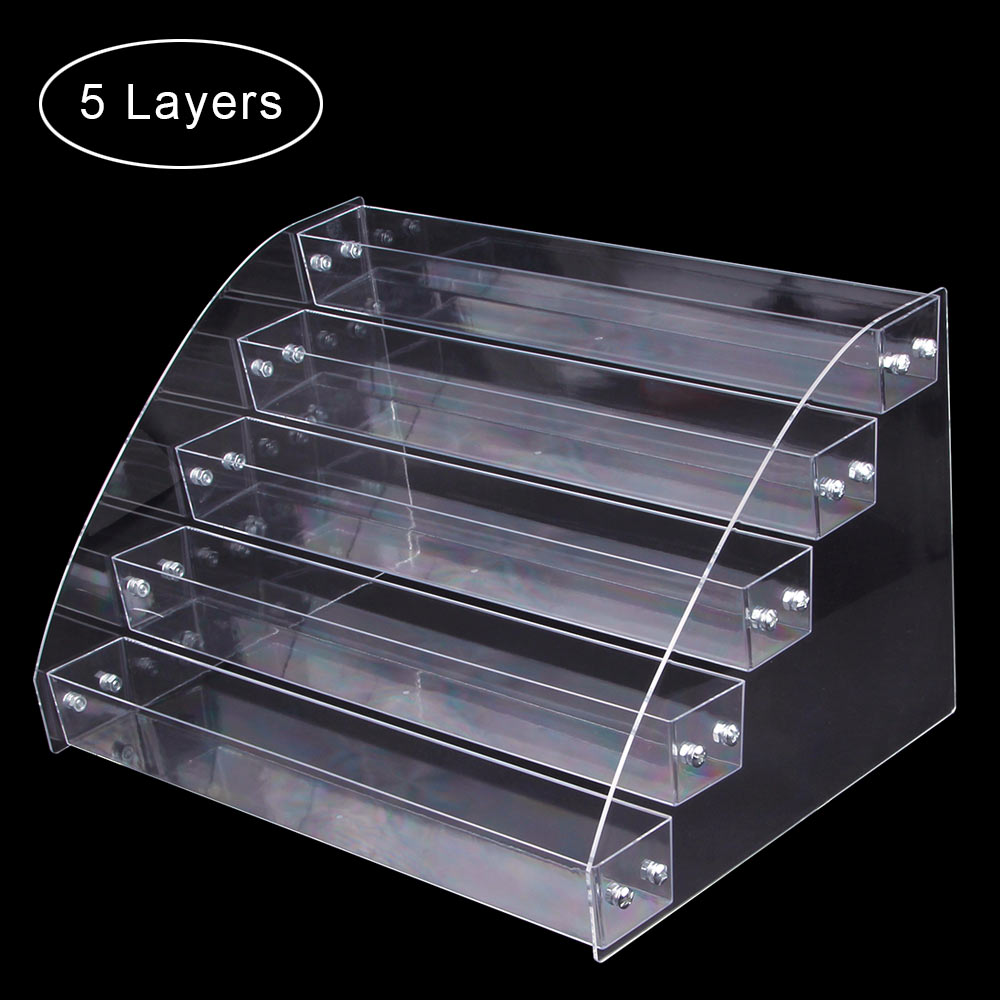1 To 7 Tier Nail Polish Rack Tabletop Display Stand Plastic Box Acrylic Display Holder Lipstick Organizer Storage Case Makeup St1 To 7 Tier Nail Polish Rack Tabletop Display Stand Plastic Box Acrylic Display Holder Lipstick Organizer Storage Case Makeup St