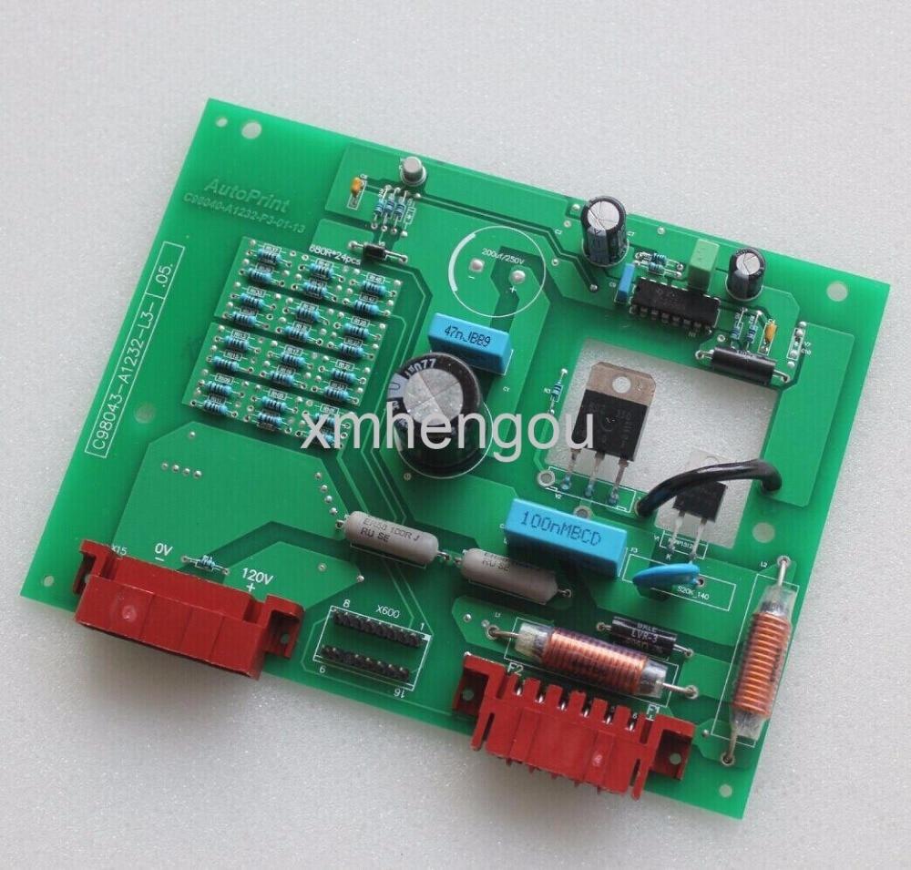 все цены на 1 Piece Heidelberg MO SM74 Machine Excitation Board C98043-A1232 offset printing machine spare parts онлайн