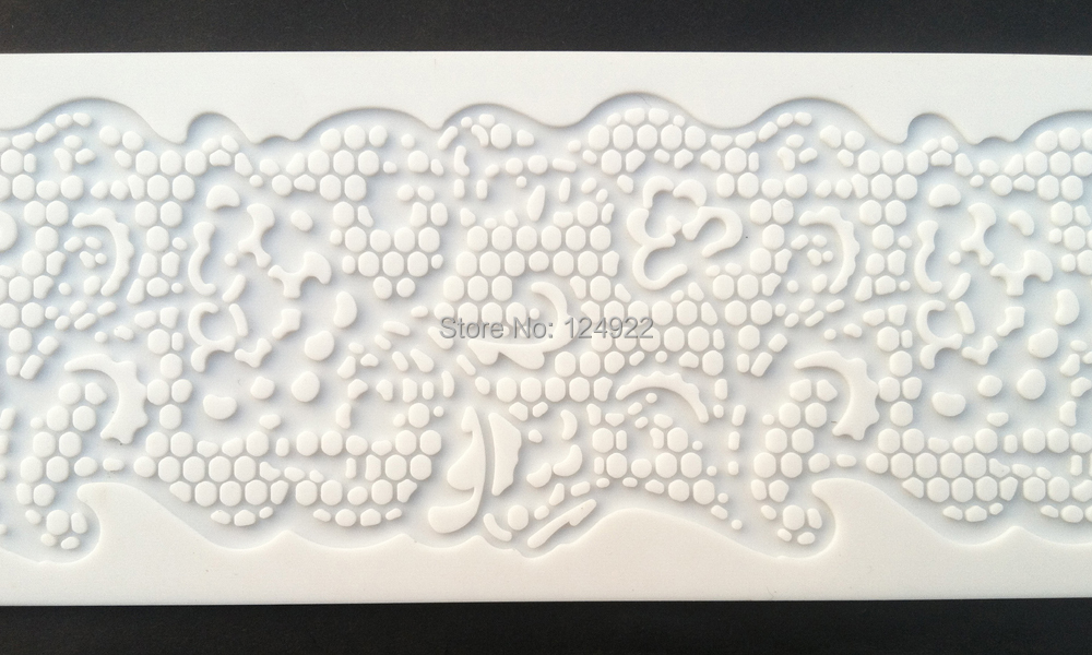 ct5006 1pc Swallow Shapes Lace Soft 100% Platinum Silicone Cake Fondant Embossing Gum Paste Decorating Mold Tool