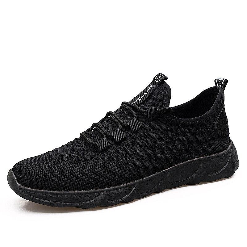 LZJ hommes chaussures décontractées léger respirant mâle noir appartements mocassins chaussures décontractées hommes baskets Zapatos De Hombre hommes chaussures