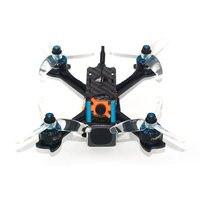 FlyFox Carreras de Zorro Azul 145mm FPV Drone w/F4 Incorporado OSD Swift 20A BLHeli_S RunCam Micro 2 de La Cámara DIY RC Quadcopter BNF