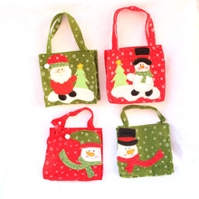 New Santa Claus Snowman Gift Bags Merry Christmas Candy Bags Quality First