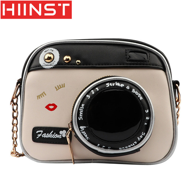 Hiinst Handbags Personalized Camera Bag European And American Fashion Chain Shoulder Messenger Women Mini Y1225