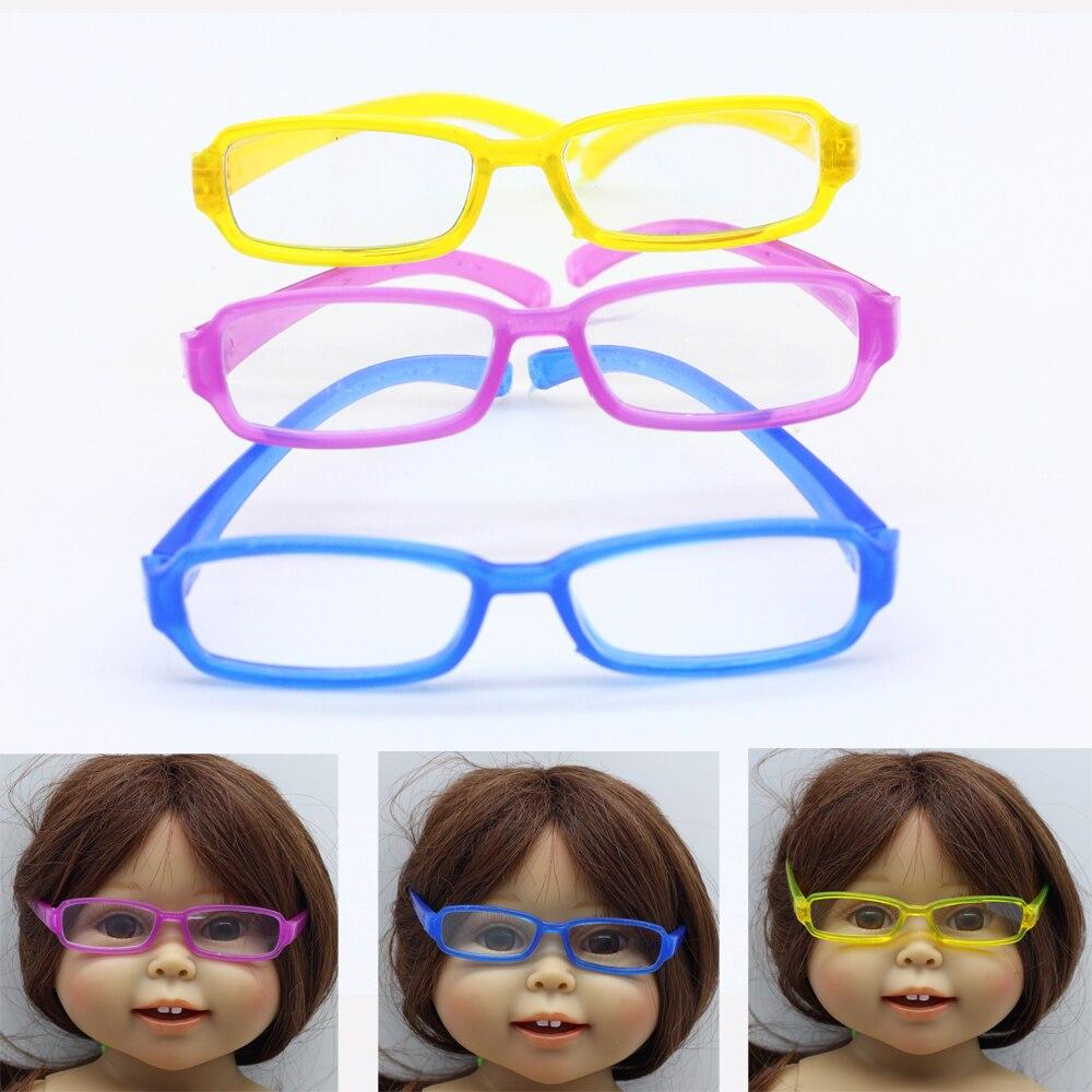 1pcs Fashion Glasses  for 18 American Girl Doll for 1/6  BJD Blyth Doll eyeglass es001 uncle 1 3 1 4 1 6 doll accessories for bjd sd bjd eyelashes for doll 1 pair tx 03