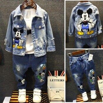 Vestido para Niñas Ropa para niños verano Mickey Minnie Bebé