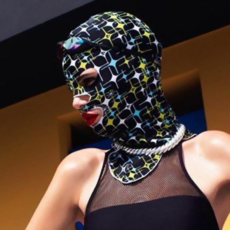 H779 Swimming headgear waterproof sun mask windproof swimming cap snorkeling equipment diving face Gini sunscreen beach mask