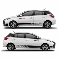 TAIYAO car styling sport car sticker For Toyota 2013 2018 YARiS sticker car accessories and decals auto sticker