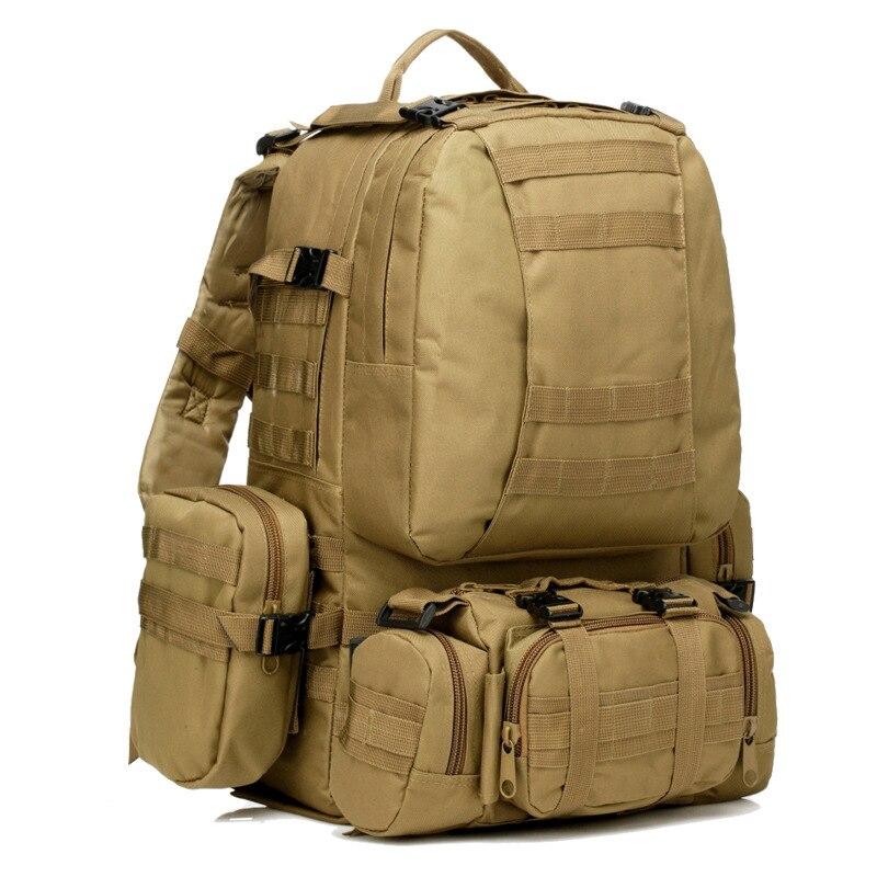 45L Molle housekeeper Tactics Backpack Waterproof 1000D High capacity Assault Travel Military Rucksacks Army Bag