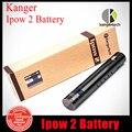 100% auténtico Kangertech batería Ipow2 e-cigarrillo del EGO batería kang Ipow 2 con pantalla LED de carga Micro USB 1600 mAh
